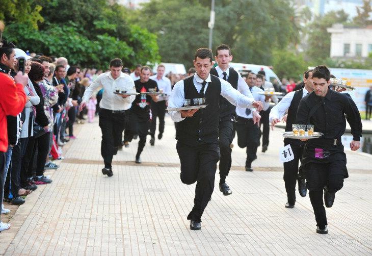 Corrida de garçons acontece nesta semana em Campos do Jordão